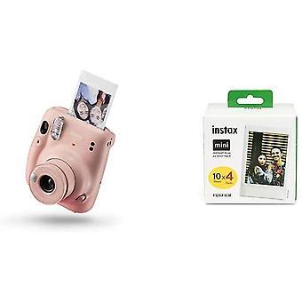 FengChun Mini 11 Kamera, erröten rosa Mini Instant Film, 1x 40 Blatt (40 Blatt), Wei