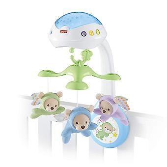 FengChun CDN41 - 3 in 1 Traumbrchen Baby Mobile mit Spieluhr, Nachtlicht, White Noise und
