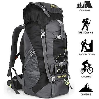 FengChun Hiking Backpack, 60L Large Rucksack for Men Women, Tear and Water-resistant Ideal for