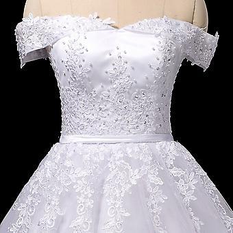 Long Train Bridal Wedding Gowns