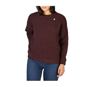 K-Way - Clothing - Sweater - K007HU0-9 - Women - darkred - 8