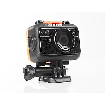 Full Hd Waterproof Light Sports Dv With Remote Control Action Camera