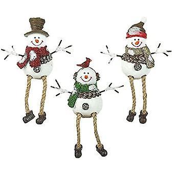 Taivas lähettää lumiukkoja joulukoristeita
