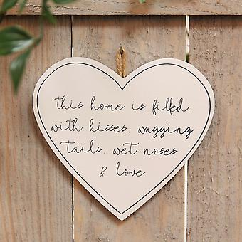 Best of Breed Wooden Plaque - Wagging Tails