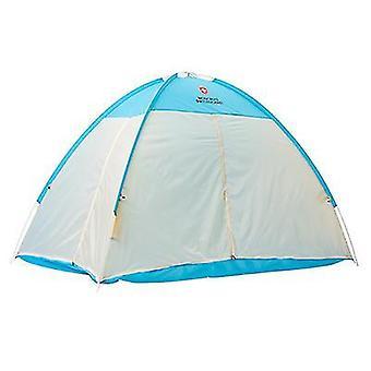 Intérieur Adulte Lit Pour Enfants Tente Chaude Et Coupe Double Lit Tente d'Hiver (Bleu)