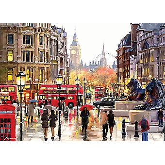 Otter House London Jigsaw Puzzle (1000 Pieces)