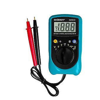 ALL SUN EM3610 Akumulator wewnętrzny miernik rezystancji akumulatora Współczynnik temperatury Motoryzacja