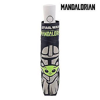 Foldable Umbrella The Mandalorian Black (Ø 97 cm)