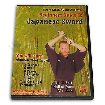 Guía para principiantes Japanese Sword #2 Shinken Steel Dvd Dana Abbott -Vd6795A