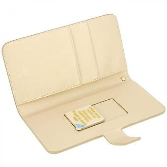 Muvit - Universal Gold Wallet Cover Slide Cover Size Xxl