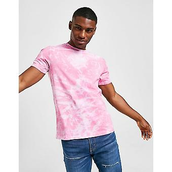 New STATUS Men's Hue Short Sleeve T-Shirt from JD Outlet Pink