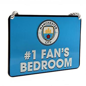 Manchester City soverom tegn No1 Fan