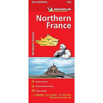 Northern France  Michelin National Map 724 Map Michelin National Maps 724