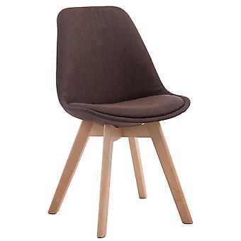 Esszimmerstuhl - Esszimmerstühle - Küchenstuhl - Esszimmerstuhl - Modern - Braun - Holz - 48 cm x 55 cm x 84 cm