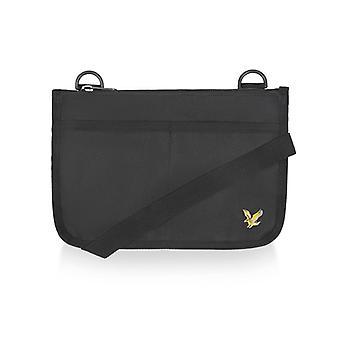 Lyle & scott flat pouch - echt zwart