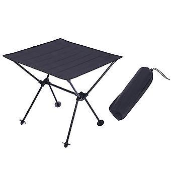 Homemiyn Oxford Cloth Aluminum Alloy Folding Table Outdoor Portable Picnic Table