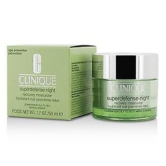 Clinique Superdefense Night Recovery Moisturizer - For Combination Oily To Oily - 50ml/1.7oz