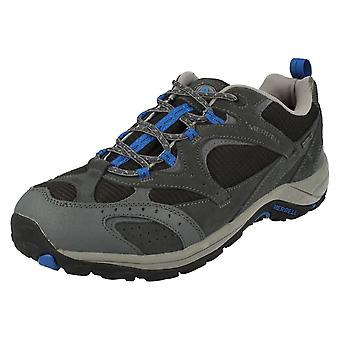 Mens Merrell Casual Lace Up Trainers Nova Vent Waterproof