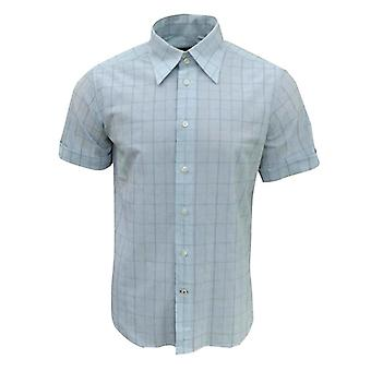 Duck and Cover Men's Ocean Drive Short Sleeve Check Shirt