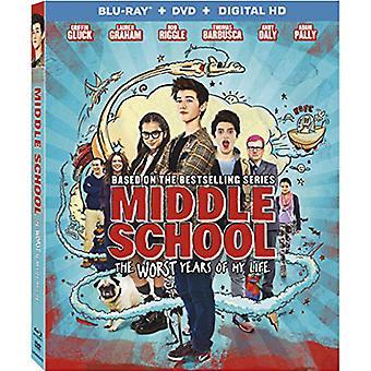 Escuela intermedia: Peores años de mi vida [Blu-ray] USA importar