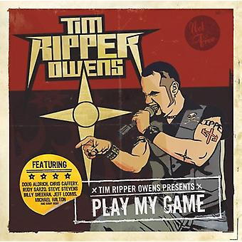 Tim 'Ripper' Owens - Play My Game [CD] USA import