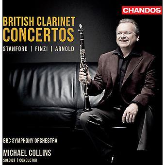 Finzi/Arnold/Stanford - britannique de concertos pour clarinette: Stanford, Finzi, importation USA Arnold [CD]