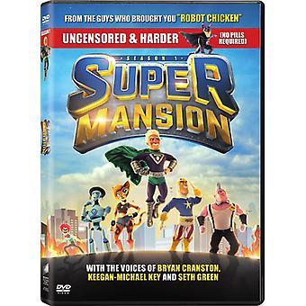 Supermansion: Kauden yksi [DVD] USA tuonti