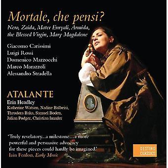 Headley / Atalante - USA Reliquie Di Roma III Mortale Che Pensi [CD] import