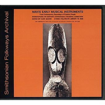 Primeros instrumentos musicales del hombre - temprano instrumentos del hombre musicales [CD] USA importar