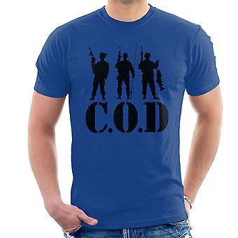 TORSK-Call Of Duty fiske menn t-skjorte
