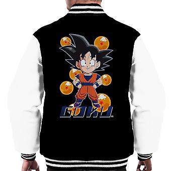 Son-Goku Muster Dragon Ball Männer Varsity Jacket