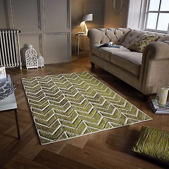 Portland 5603 F grün Beige Läufer Teppiche moderne Teppiche