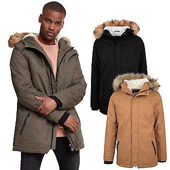 Urban classics - HEAVY COTTON faux fur parka Winterjacket
