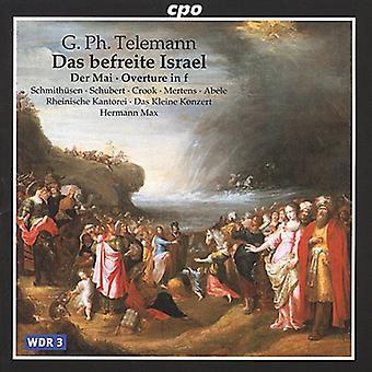 G.P. Telemann - Telemann: Das Befreite Israel [CD] USA import