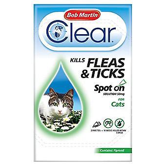 Bob Martin Clear kat Kitten plek op behandeling
