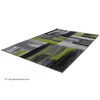 Swing Art Green Rug