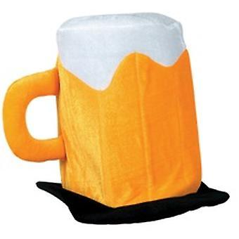 Cerveza sombrero de fieltro de felpa
