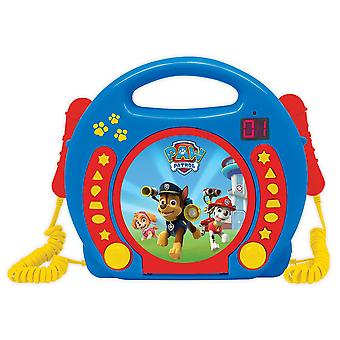 LEXIBOOK CD Player with 2 Mics Paw Patrol (Model No. RCDK100PA)