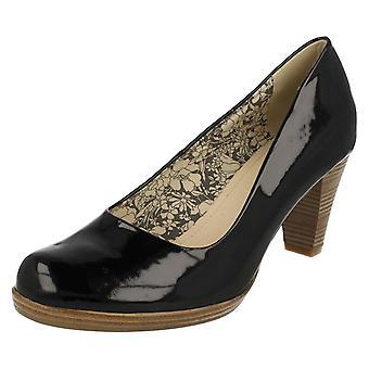 Corte de damas Rieker zapatos de tacón 41160