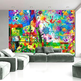 Fotobehang - Colorful fantasies