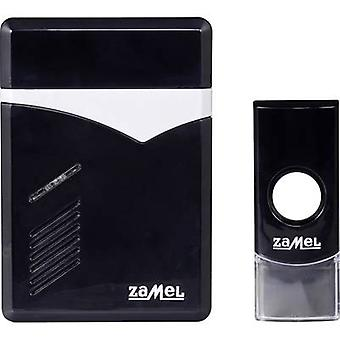 Zamel ST-251 TECHNO Wireless door chime Complete set incl. nameplate