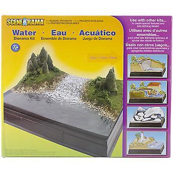 Diorama zestaw woda