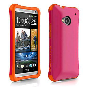 Ballistic Aspira Case for HTC One / M7 (Hot Pink/Tangerine)