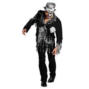 Zombiebräutigam Hochzeit Halloween Horrorkostüm Kostüm für Herren