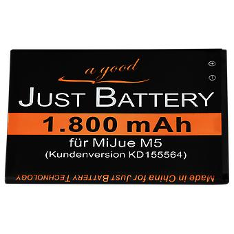 Battery for MiJue M5