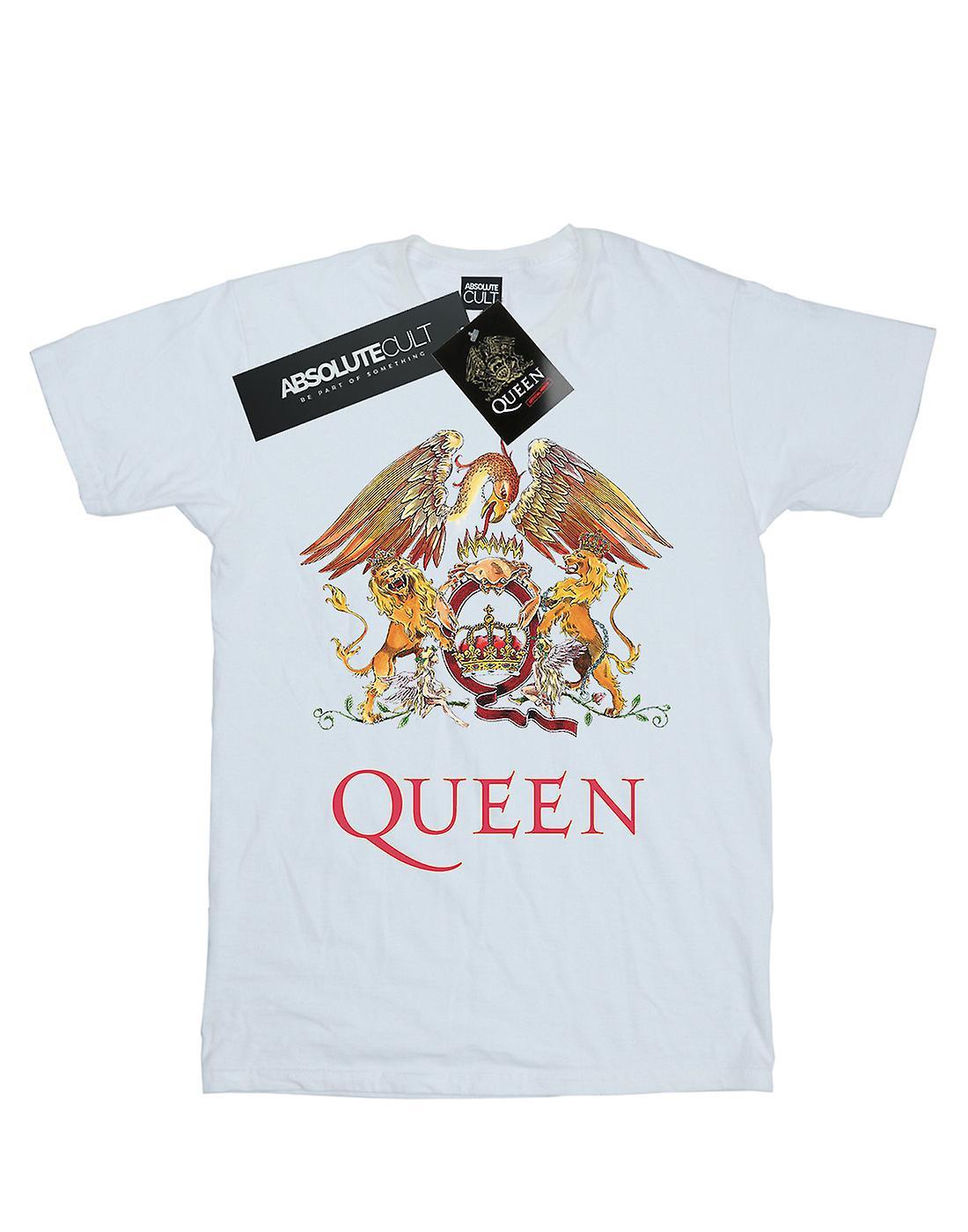 Queen Women's Crest Logo Boyfriend Fit T-Shirt