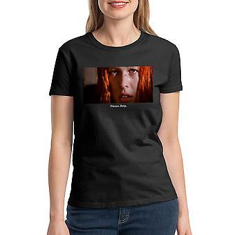 Le cinquième élément aider s'il vous plaît citer T-shirt noir des femmes
