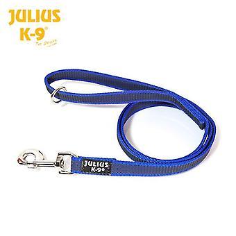 Julius K9 laisse de chien bleu Super Grip 1,2 m
