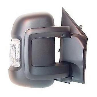 Höger spegel (elektrisk uppvärmd 5W indikator) För FIAT DUCATO Flatbädd 2006-2017