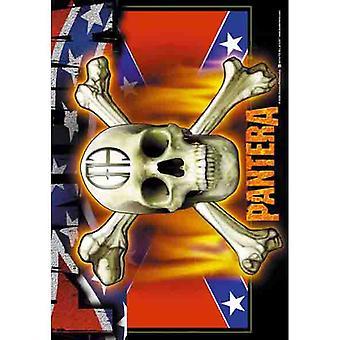 Pantera - vlag & schedel-vlag
